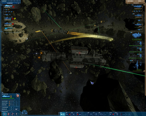 Nexus: The Jupiter Incident screenshot 3