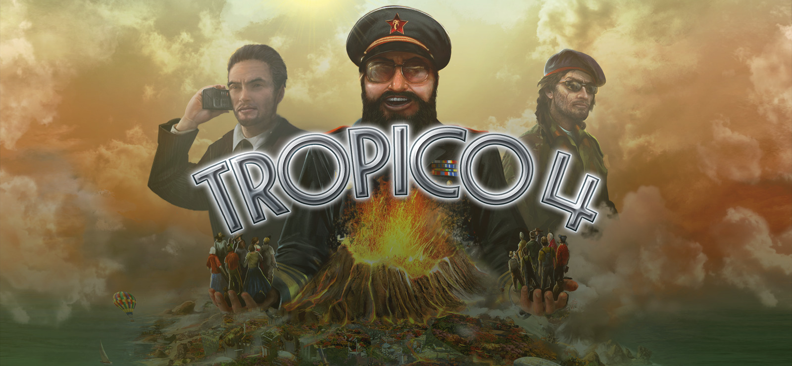Tropico 4 Complete Pack-GOG