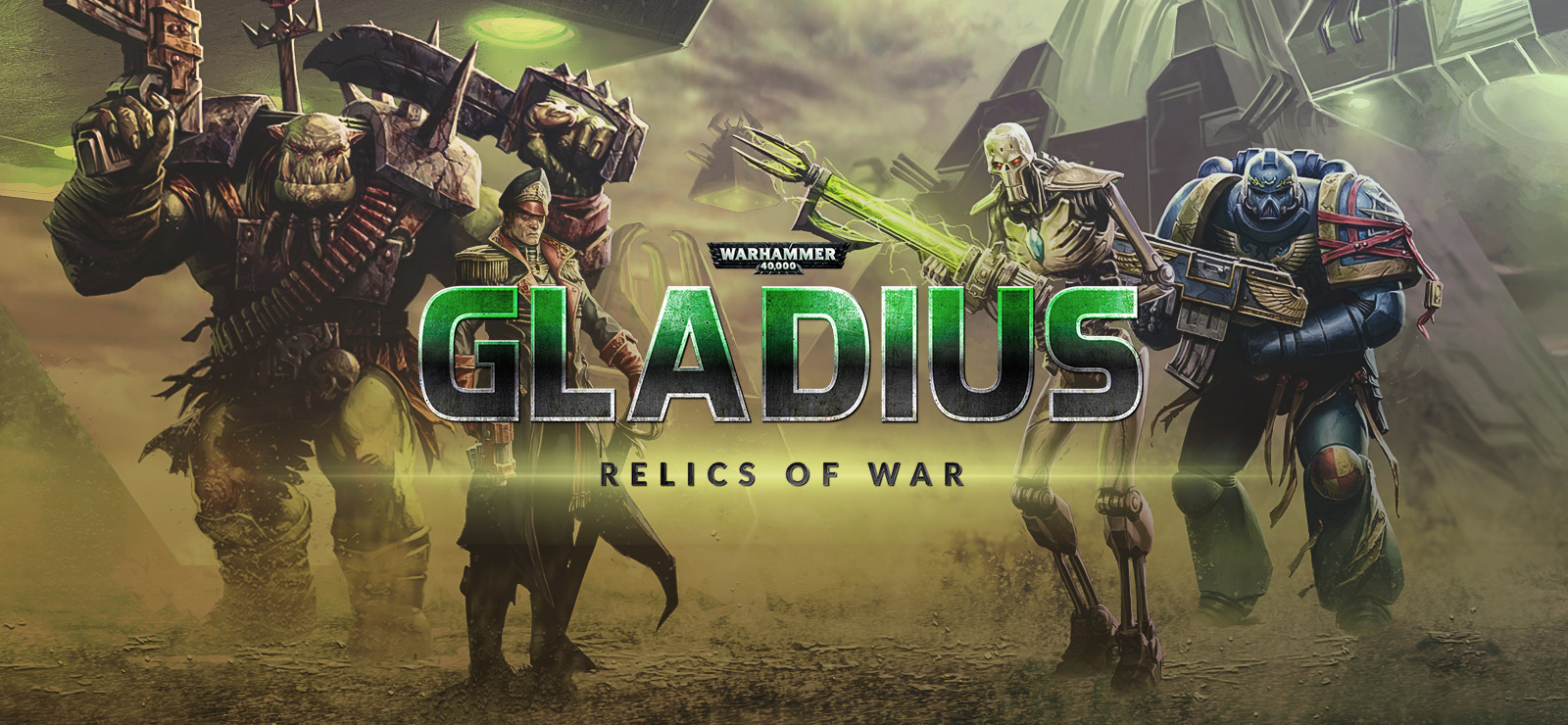 Warhammer 40,000: Gladius - Relics of War Deluxe Edition +