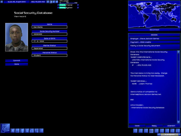 Uplink: Hacker Elite screenshot 2