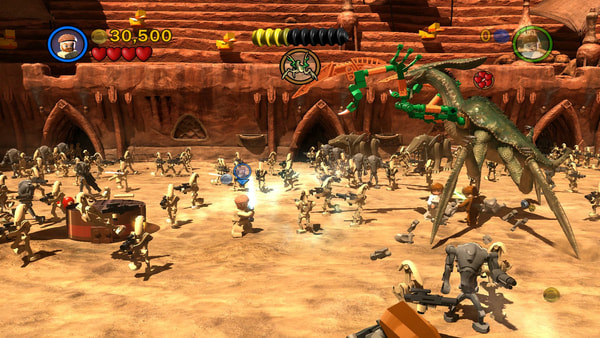 LEGO Star Wars III: The Clone Wars screenshot 2