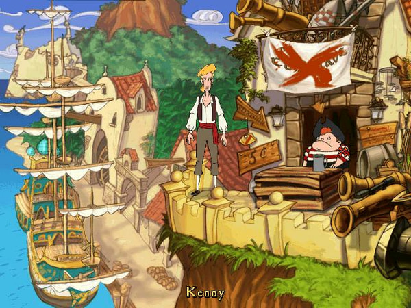 The Curse of Monkey Island screenshot 2