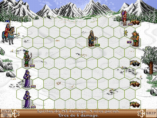 Heroes of Might and Magic 2: Gold screenshot 3