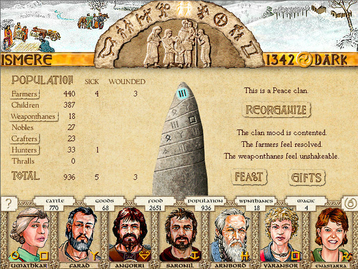 King of Dragon Pass screenshot 3