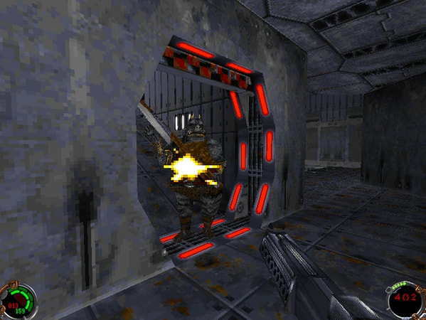 Star Wars: Jedi Knight - Dark Forces II screenshot 1