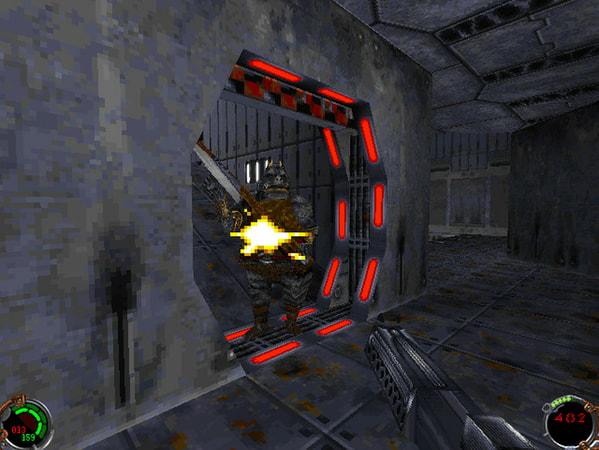 Star Wars: Jedi Knight - Dark Forces II screenshot 1