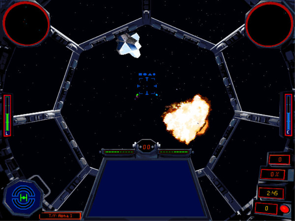 Star Wars: X-Wing Vs. TIE Fighter screenshot 2