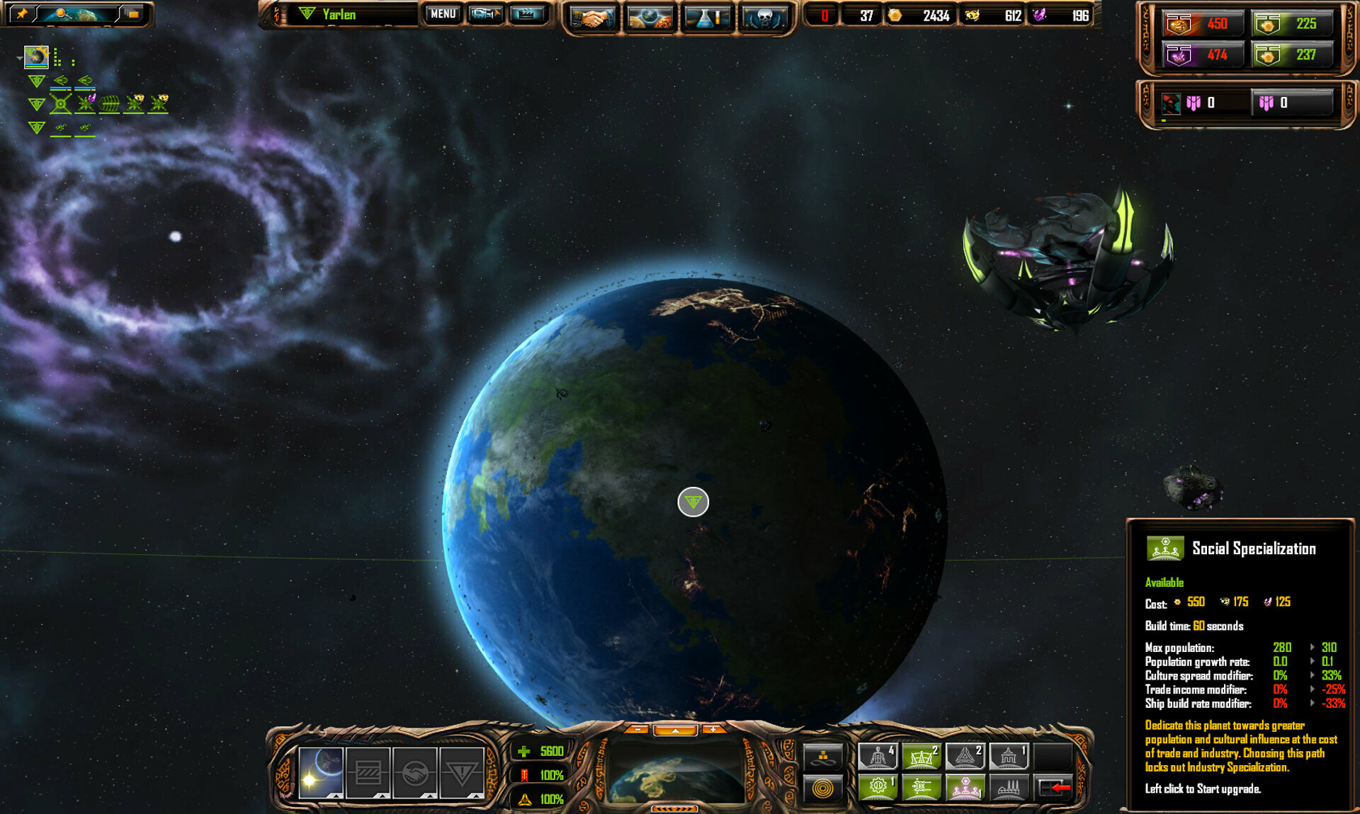 Sins of a Solar Empire: Rebellion Ultimate Edition screenshot 2