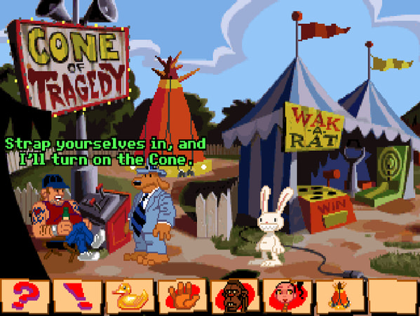 Sam & Max Hit the Road screenshot 2