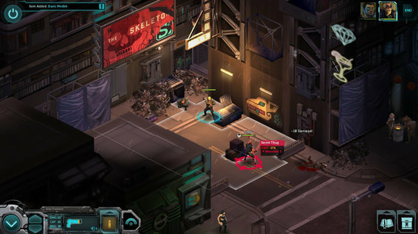 Shadowrun Returns screenshot 2