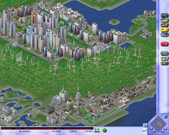 SimCity 3000 Unlimited screenshot 2