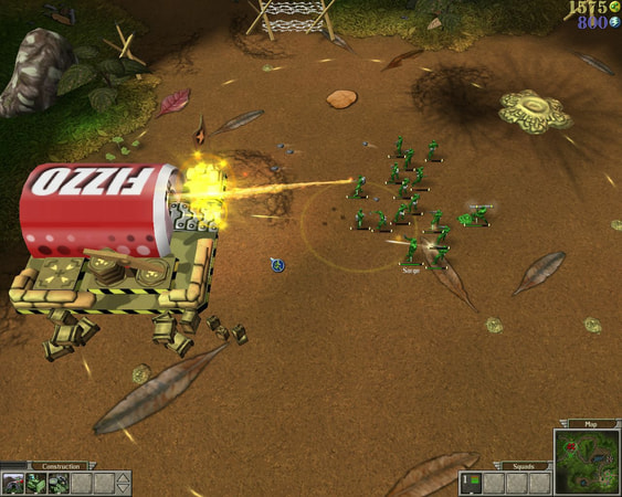 Army Men RTS screenshot 3
