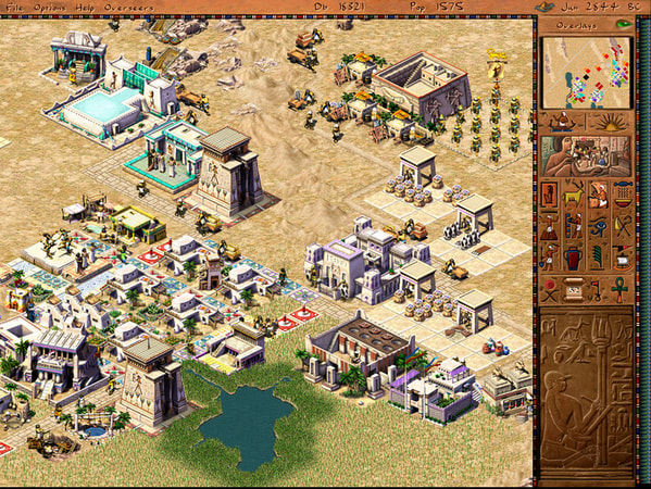 Pharaoh + Cleopatra screenshot 1